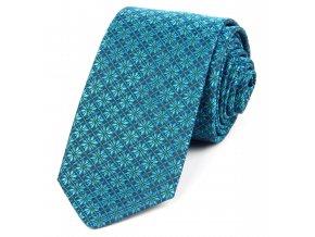 51401722 kravata kyticka zelena