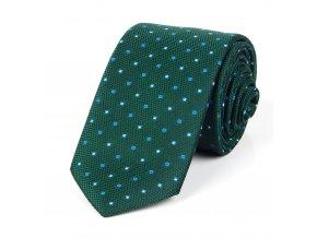 51401723 kravata ctverecek zelena