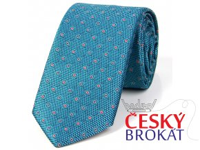 51401735 kravata ctverecek zelena