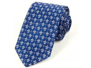 51401728 kravata lilie modra