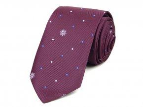 51401804 kravata vlocka vinova