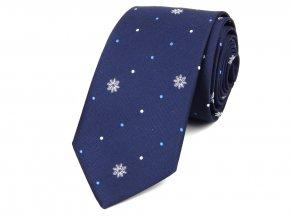 51401805 kravata vlocka modra