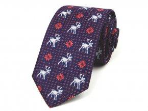 51401835 kravata sobi modra cervena bila