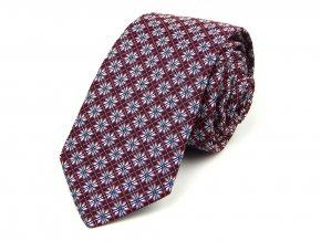 51401843 kravata hvezda cervena