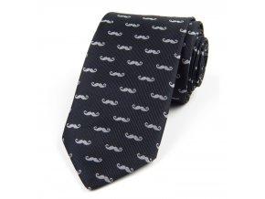 51401491 kravata fousky seda