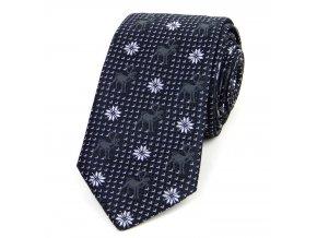51401821 kravata sobi cerna