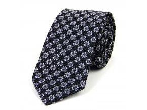 51401823 kravata hvezda cerna