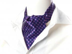 18100763 kravatosala askot modra fialova