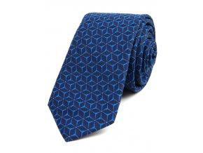 51401967 kravata hvezda tyrkys