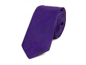 51401968 kravata turek fialova