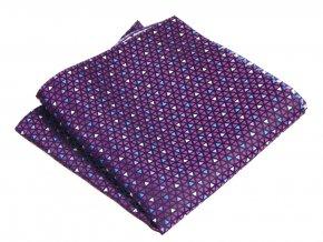 57401024 kapesnicek geometrie trojuhelnik fialova