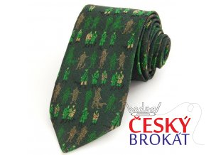 kravata myslivci