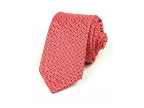 51401991 kravata ctverecek vinova cervena