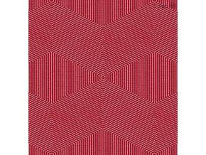 Historický brokát 160 50749 hexagon červená