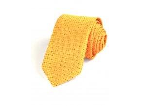 51401986 kravata oval zakar zluta