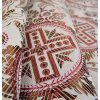 Církevní brokát 160 51037 KŘÍŽ V KRUHU ecru
