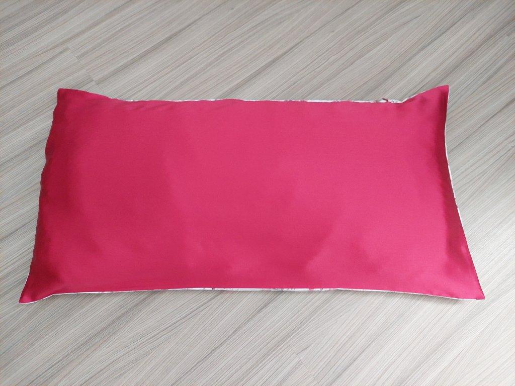 Povlak na polštář se 100% hedvábím a bavlnou různé velikosti