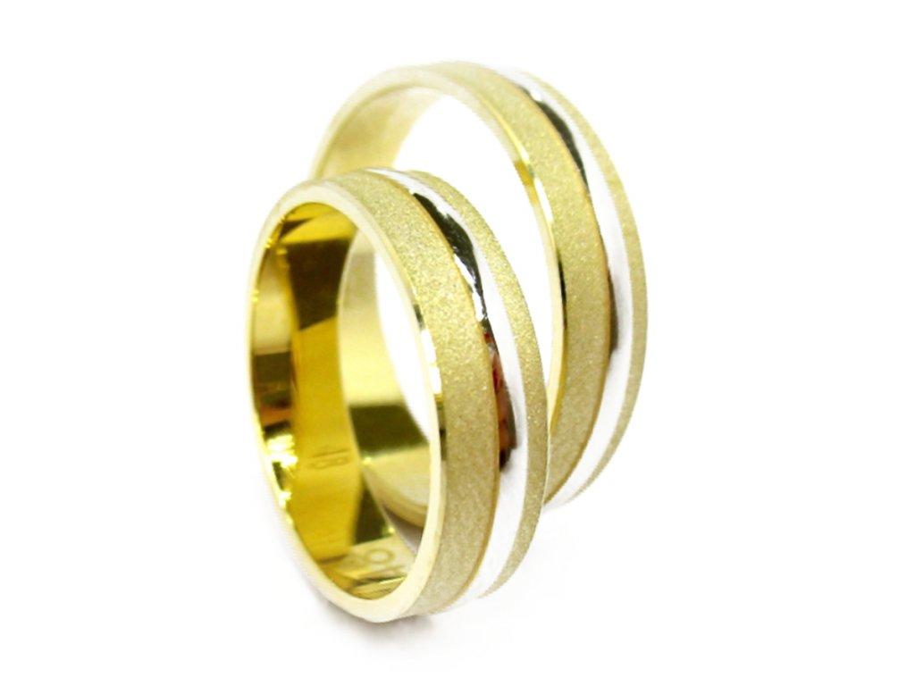 3200 1 zlate snubni prsteny