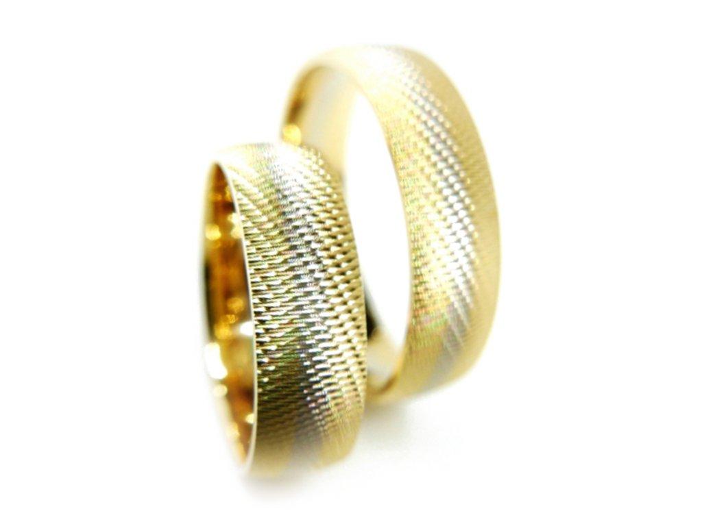 3203 1 zlate snubni prsteny