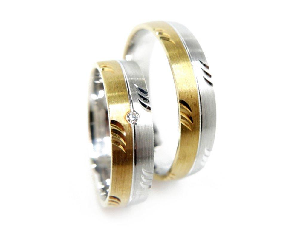 3224 1 zlate snubni prsteny
