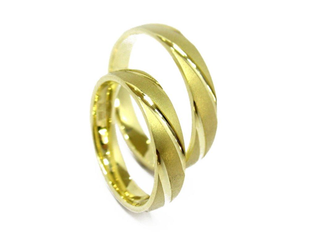 3281 1 zlate snubni prsteny