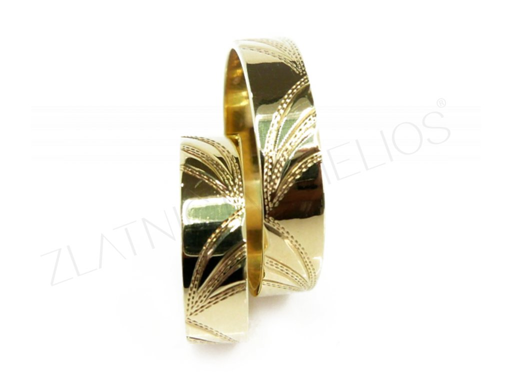 3368 1 zlate snubni prsteny