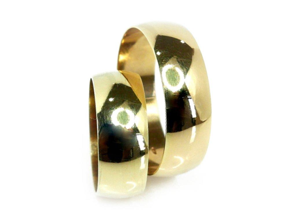 3677 1 zlate snubni prsteny