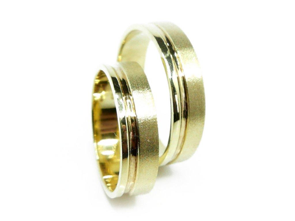 3689 1 zlate snubni prsteny