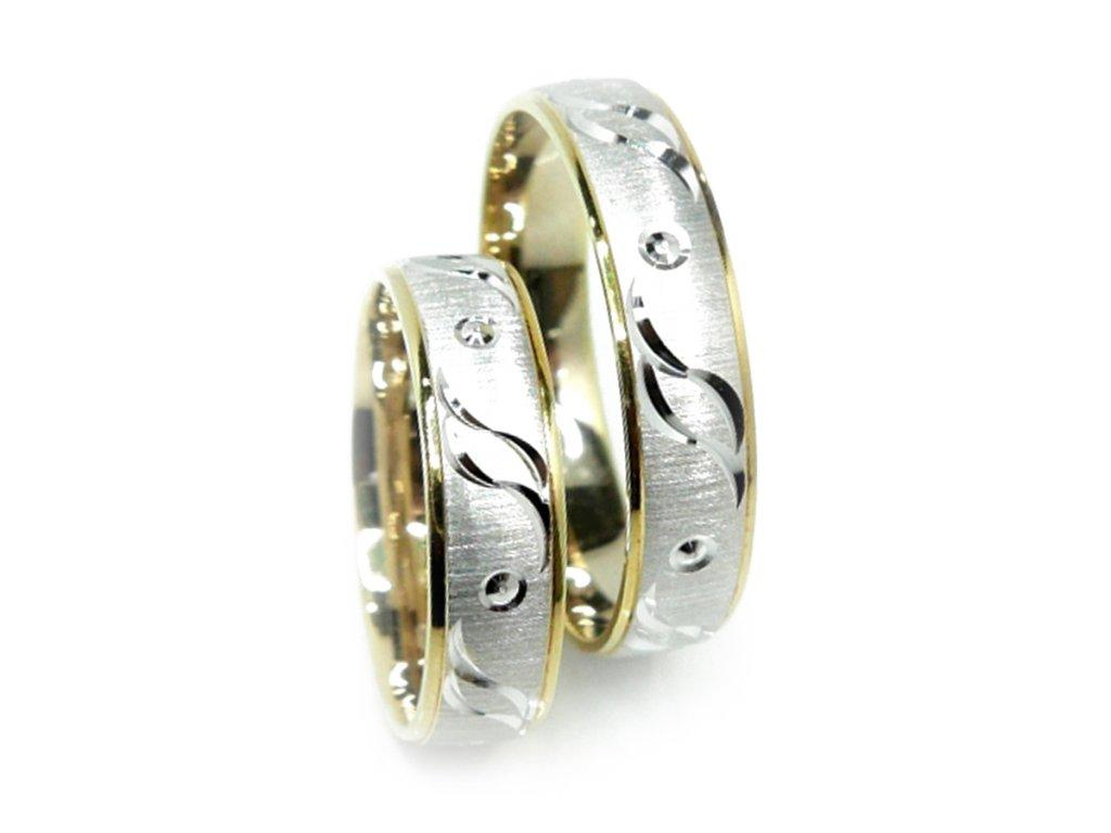 3770 1 zlate snubni prsteny