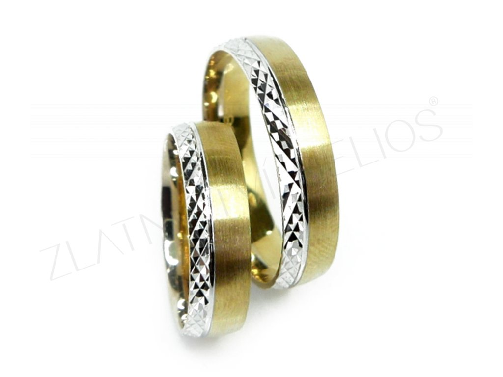 4259 1 zlate snubni prsteny