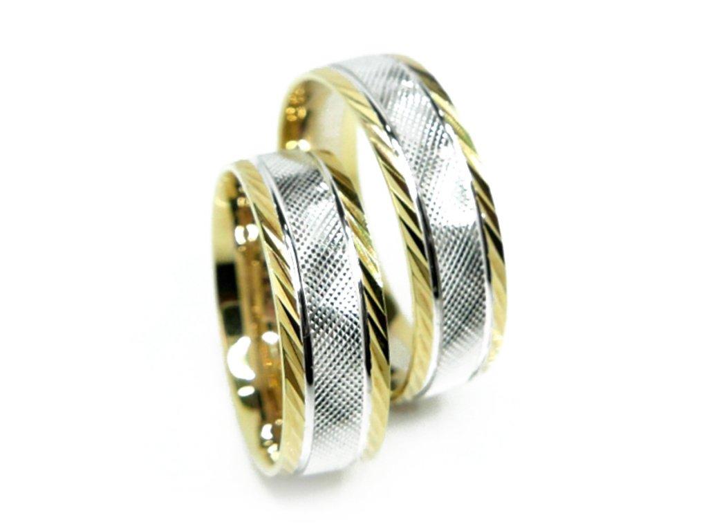 4313 1 zlate snubni prsteny