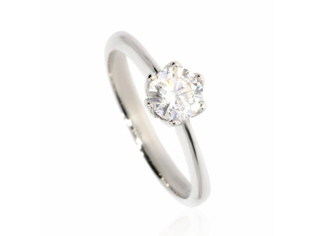 4433 1 zlaty prsten se zirkonem