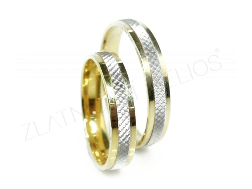 4616 1 zlate snubni prsteny