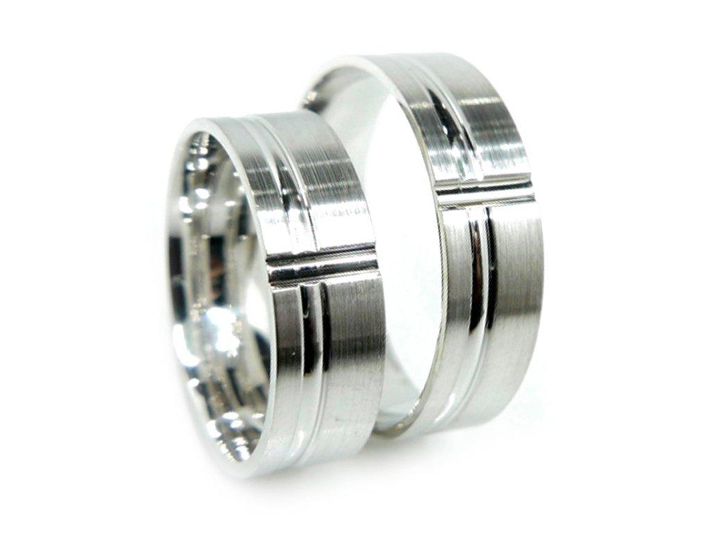 6938 1 stribrne snubni prsteny