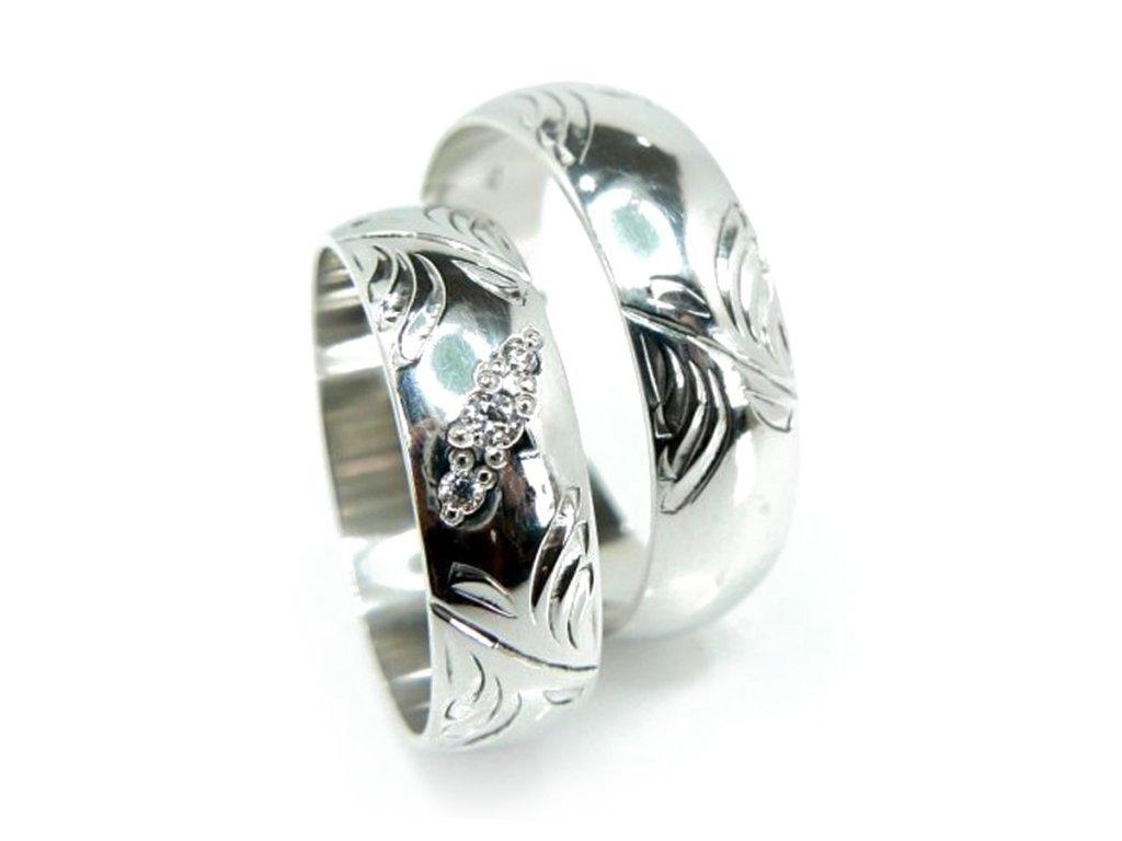 5024 1 zlate snubni prsteny