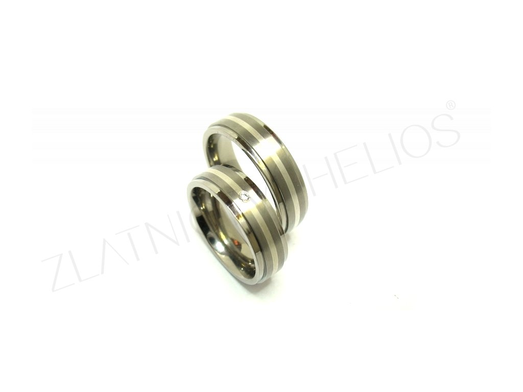 7388 titanove snubni prsteny