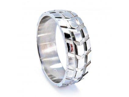 Chirurgická ocel prsten pánský