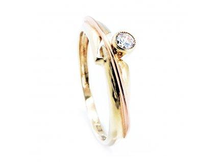 Zlatý prsten B39544