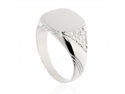 Prsten z bílého zlata B42548