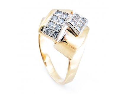 Zlatý prsten B37218