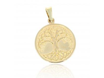 4961 4961 zlaty privesek strom zivota