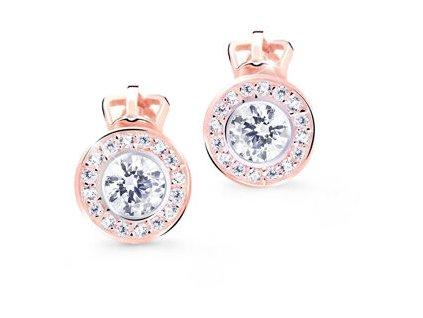 cutie jewellery nezne nausnice pecky s trpytivymi zirkony z8028 30 x 4 14743377143247