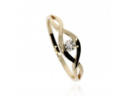 Prsten s diamantem M84