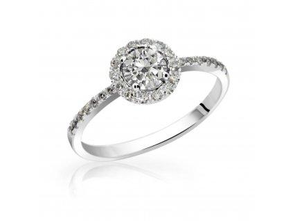 4478 zlaty prsten se zirkony