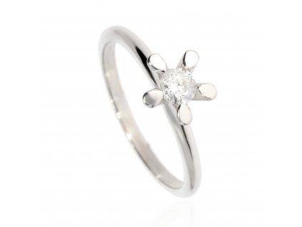 4481 zlaty prsten se zirkonem