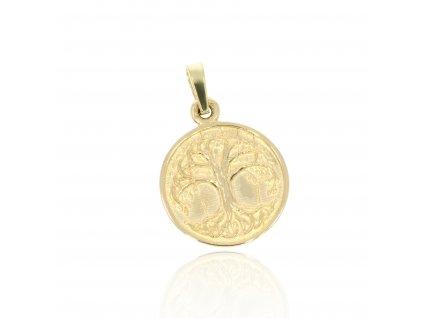 6017 zlaty privesek strom zivota