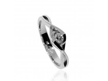 6392 zlaty nezny prsten s briliantem
