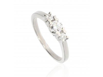 6593 zasnubni prsten se zirkony
