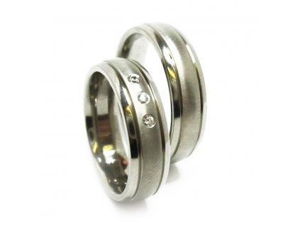 7361 titanove snubni prsteny