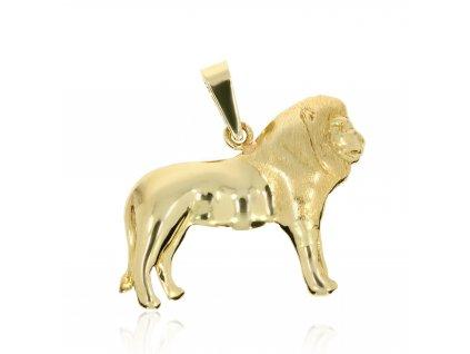 7901 1 zlaty privesek lev